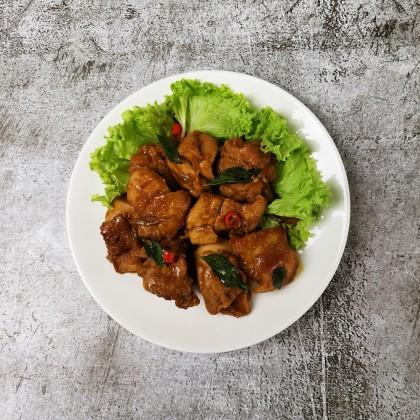 (生鲜冷冻)甘香鸡丁/猪肉(Raw) Gan Heong Golden Paste Chicken/Pork (Fresh Frozen)