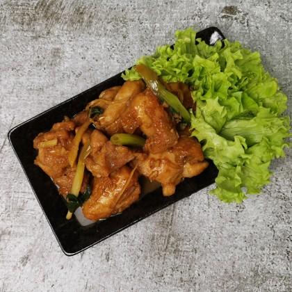 (生鲜冷冻)麻油香鸡丁/猪肉 (Raw) Sesame Sauce Chicken/Pork (Fresh Frozen)